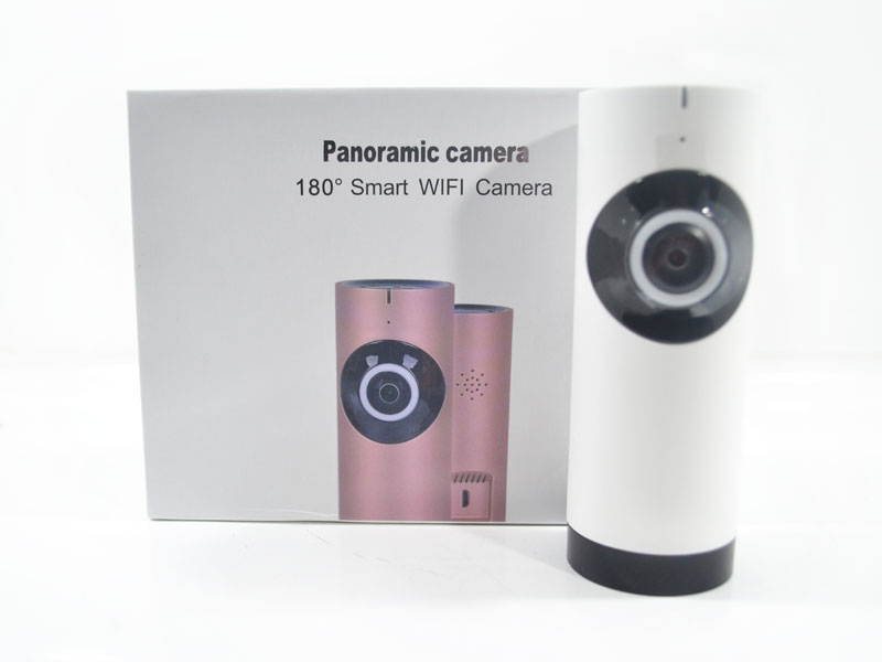 180 Wireless WIFI Camera (White)